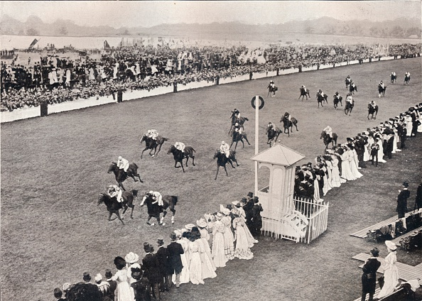 Horse「'The Finish for the Royal Hunt Cup', c1903」:写真・画像(7)[壁紙.com]