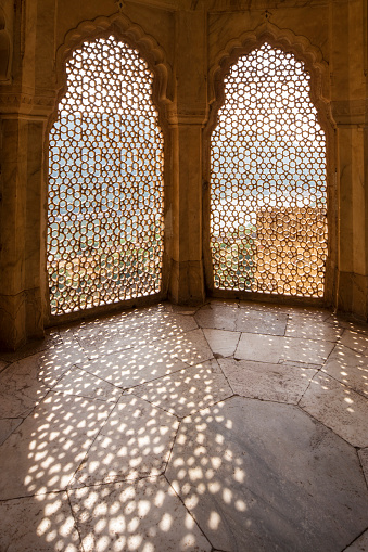 Rajasthan「The Amber Fort, Jaipur, Rajasthan, India」:スマホ壁紙(12)