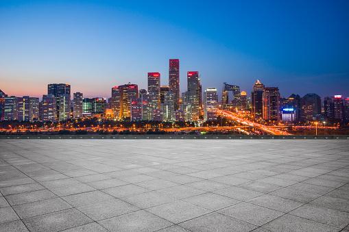 デジタル合成「北京の夜」:スマホ壁紙(0)