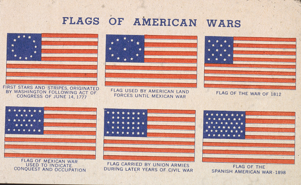 Variation「Flags Of American Wars From 1777-1898」:写真・画像(9)[壁紙.com]
