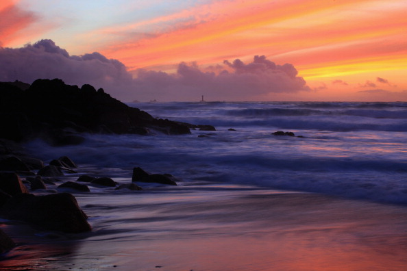 Lands End - Cornwall「Cornwall Enjoys Warm Weather After The Harsh Winter」:写真・画像(1)[壁紙.com]