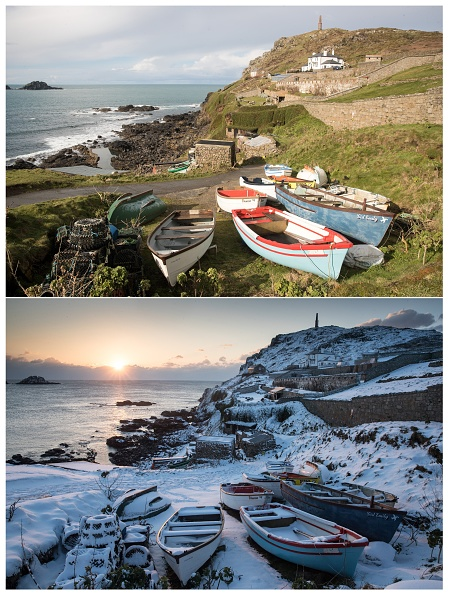 Bay of Water「COMPOSITE: Spring Weather Replaces Arctic Freeze In Cornwall」:写真・画像(8)[壁紙.com]