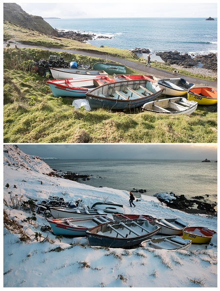 Composite Image「COMPOSITE: Spring Weather Replaces Arctic Freeze In Cornwall」:写真・画像(12)[壁紙.com]