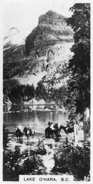Yoho National Park「Lake O'Hara, British Columbia, Canada, c1920s.」:写真・画像(4)[壁紙.com]