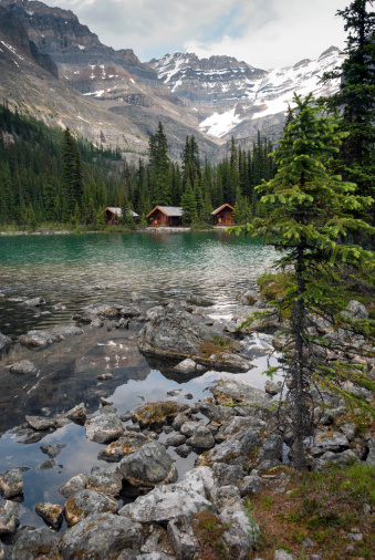Yoho National Park「Lake O'Hara, cabins」:スマホ壁紙(17)