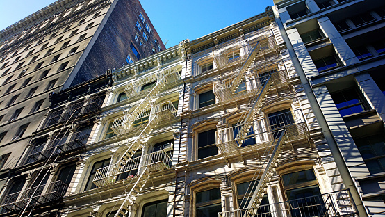 Cast Iron「Cast iron buildings in the Soho district of New York City」:スマホ壁紙(9)