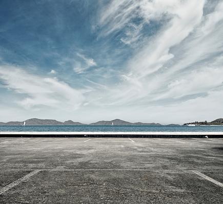 Parking Lot「Ocean carpark」:スマホ壁紙(3)