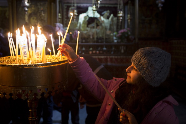 West Bank「Pilgrims Head To The Church of Nativity For Christmas」:写真・画像(15)[壁紙.com]