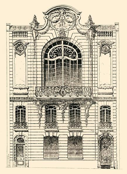 Wrought Iron「Private House In Paris」:写真・画像(19)[壁紙.com]