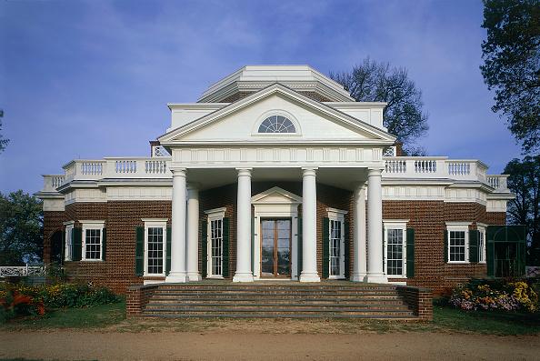 Brick Wall「Private house. Monticello, Charlottesville, Virginia, USA.」:写真・画像(6)[壁紙.com]