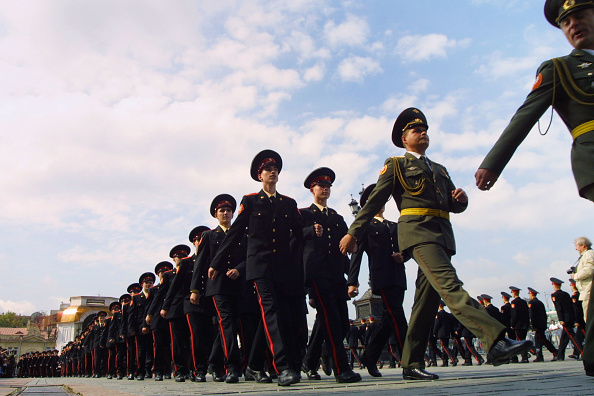 Push Button「A New Class Enters Moscow''s Suvorov Military School」:写真・画像(17)[壁紙.com]