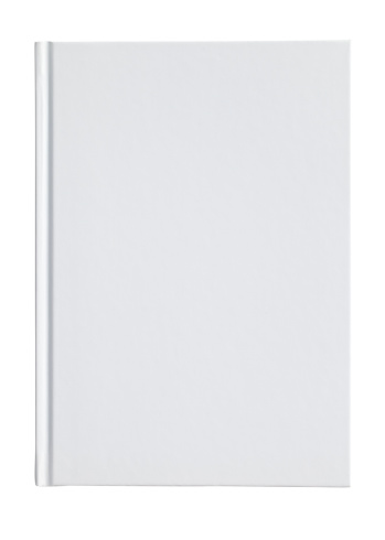 Standing「Blank white book cover on a white background」:スマホ壁紙(9)