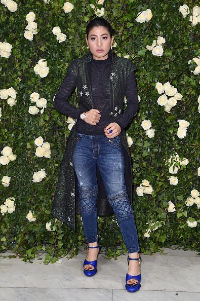 Wristwatch「Balmain : Arrivals - Paris Fashion Week Womenswear Spring/Summer 2018」:写真・画像(7)[壁紙.com]