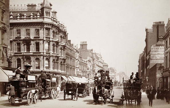 Oxford Street「View Down Oxford Street London 19th Century」:写真・画像(18)[壁紙.com]