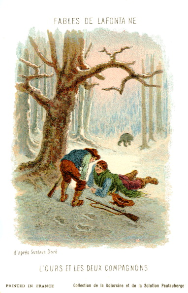 Fairy Tale「L'Ours et les deux compagnons  - fable by La Fontaine」:写真・画像(5)[壁紙.com]