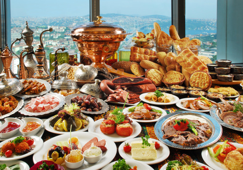 Turkish Culture「Smorgasbord of traditional foods」:スマホ壁紙(15)