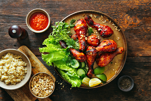 Grilled Chicken「Bbq chicken legs」:スマホ壁紙(15)