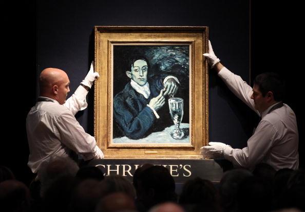 Christie's「Christie's Anticipate Record Sales In Their Evening Auction」:写真・画像(9)[壁紙.com]