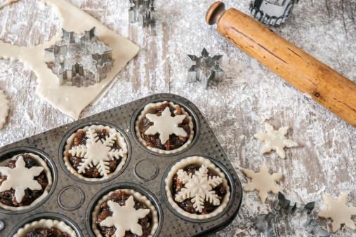 Mince Pie「Making Christmas mince pies」:スマホ壁紙(9)