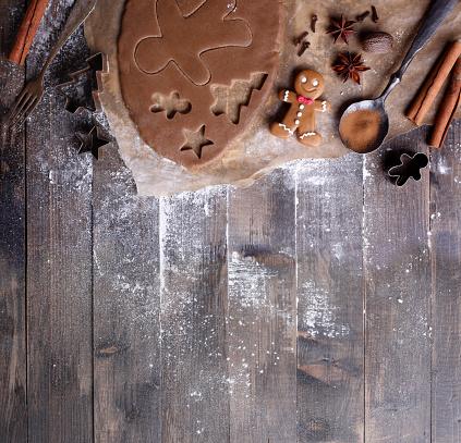 Christmas Decoration「Making Christmas Cookies」:スマホ壁紙(8)