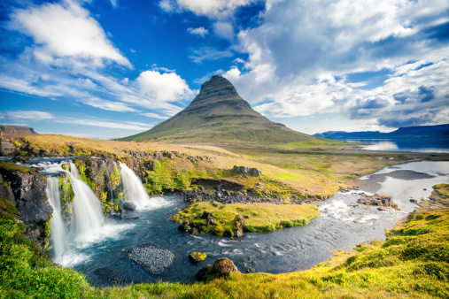 Volcano「Kirkjufell 、アイスランド」:スマホ壁紙(5)