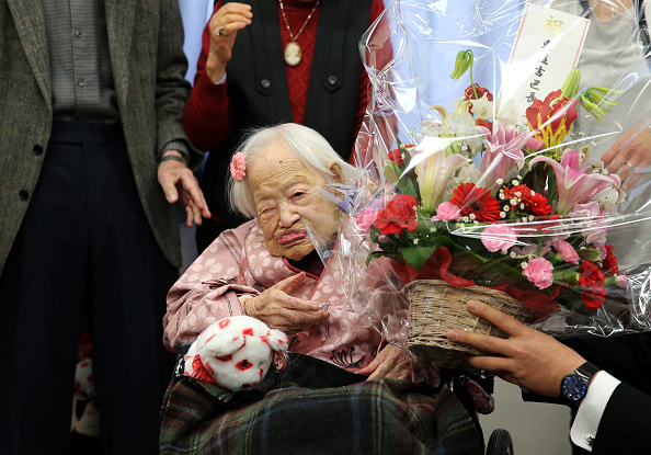 Receiving「The World's Oldest Person Celebrated Ahead Of Turning 117」:写真・画像(13)[壁紙.com]