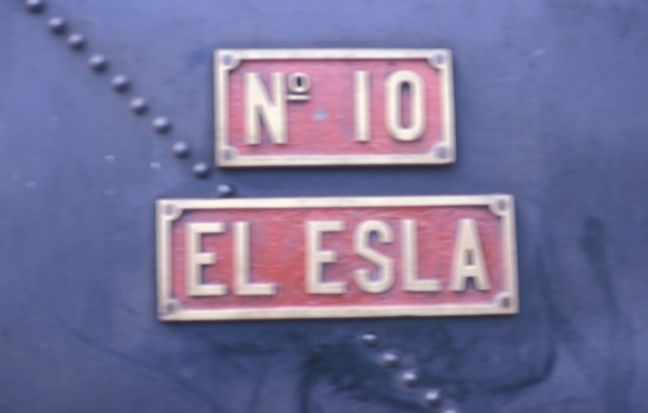 Nameplate「Numberplate and nameplate of the 1885 built Sharp Stewart 0-6-0T at Sabero Colliery Spain.」:写真・画像(9)[壁紙.com]
