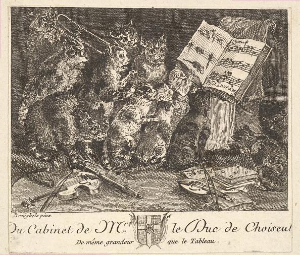 Violin「Concert Of Cats」:写真・画像(6)[壁紙.com]