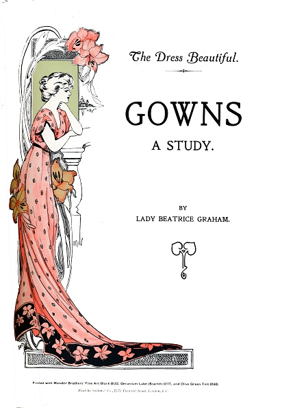 Sibling「Gowns - A Study, By Lady Beatrice Graham, 1907」:写真・画像(13)[壁紙.com]