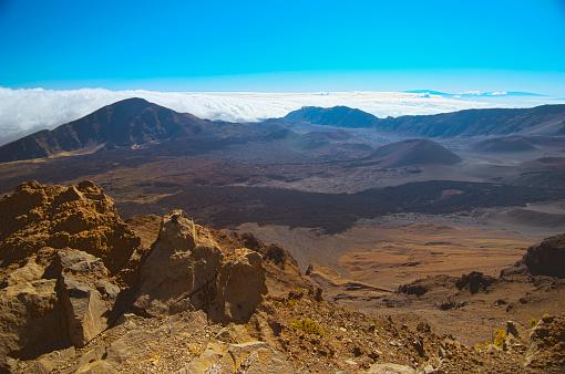 Haleakala Crater「Haleakala volcano」:スマホ壁紙(19)