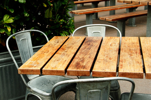 Rustic「Cafe Outdoor Patio Dining」:スマホ壁紙(17)