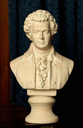 Bust - Sculpture「Mozart」:スマホ壁紙(9)