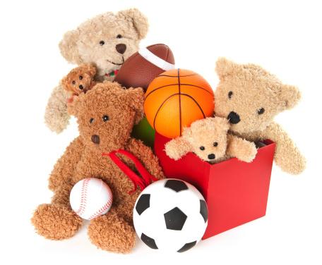 Stuffed Animals「Donation Box with Teddy Bear, Balls and Toys」:スマホ壁紙(11)