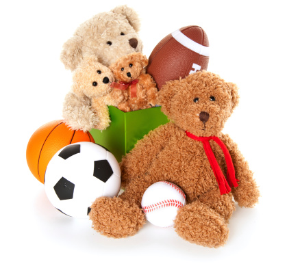 Doll「Donation Box with Teddy Bear, Balls and Toys」:スマホ壁紙(7)