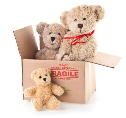 Doll「Donation Box with Three Teddy Bears」:スマホ壁紙(17)