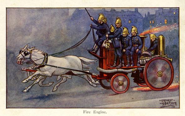 City Life「Fire Engine, London, 1911」:写真・画像(17)[壁紙.com]