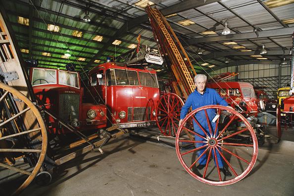 Human Role「Vintage British Fire Engines Await Restoration」:写真・画像(14)[壁紙.com]