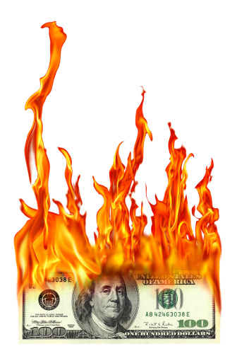 Inferno「isolated burning one hundred dollar」:スマホ壁紙(5)
