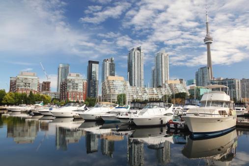 Great Lakes「Urban Toronto City Marina」:スマホ壁紙(12)