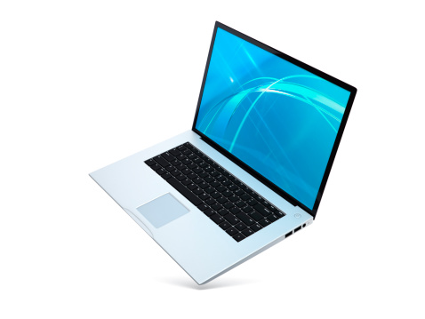 Silver Colored「Laptop floating angled Open」:スマホ壁紙(11)