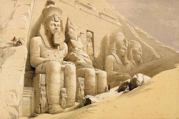 Sand Sculpture「The Great Temple Of Abu Simbel Nubia' Egypt circa 1845」:写真・画像(9)[壁紙.com]