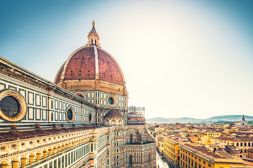 Florence - Italy「Duomo Santa Maria del Flore」:スマホ壁紙(4)