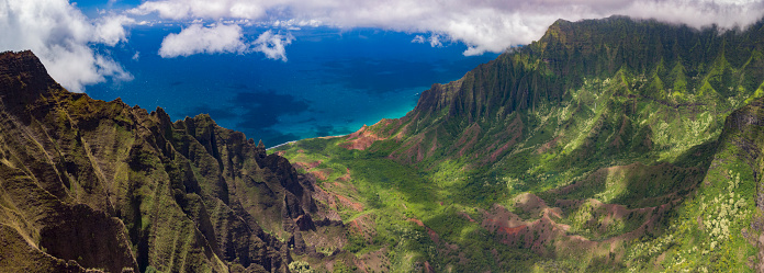 Kalalau Valley「Na Pali Coast State Park view」:スマホ壁紙(19)