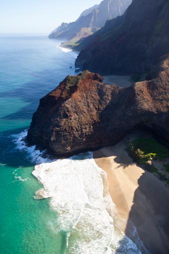 Natural Arch「Na Pali Coast Honopu Beach, Kauai」:スマホ壁紙(15)