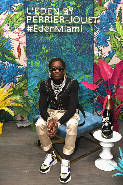 Satin Pants「Young Thug Performs At L'Eden By Perrier-Jouët In Miami Beach」:写真・画像(6)[壁紙.com]