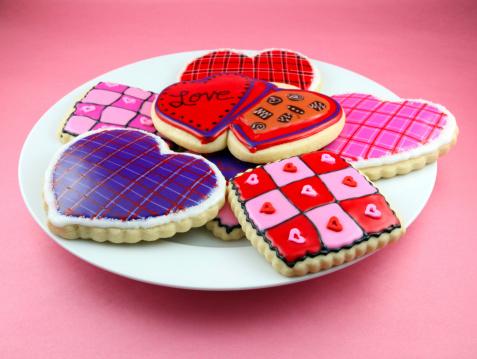 Tartan check「バレンタインデーのクッキー」:スマホ壁紙(18)