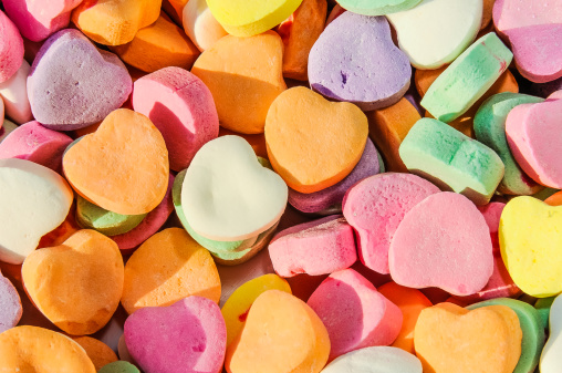 Candy Heart「Valentines Day Heart Shaped Candies」:スマホ壁紙(9)