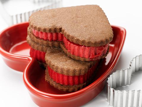 バレンタインデー「Valentines Sorbet Sandwiches」:スマホ壁紙(9)