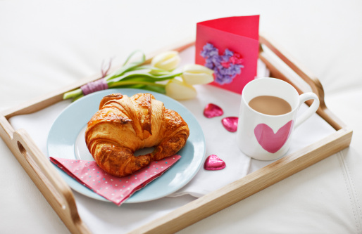 Mother's Day「Valentine's Day breakfast tray」:スマホ壁紙(3)