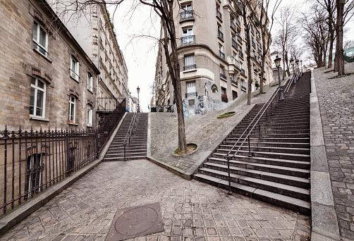 Effort「Montmartre stairs」:スマホ壁紙(10)
